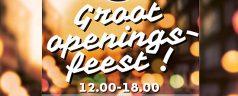 Groot openingsfeest! Frits Ruysstraat, Weteringstraat, Vlietlaan en de Goudse Rijweg