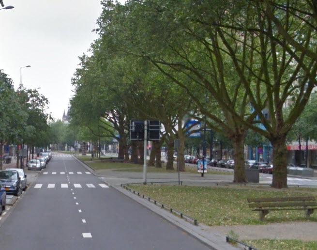 Mariniersweg dicht voor vervangen stadsverwarming