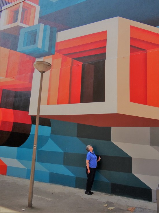 Ingezonden: prachtige muurschildering in Crooswijk