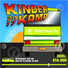 Gulle gevers voor Kinderkamp Kralingen-Crooswijk