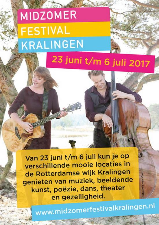 Midzomerfestival Kralingen – 23 juni t/m 6 juli 2017