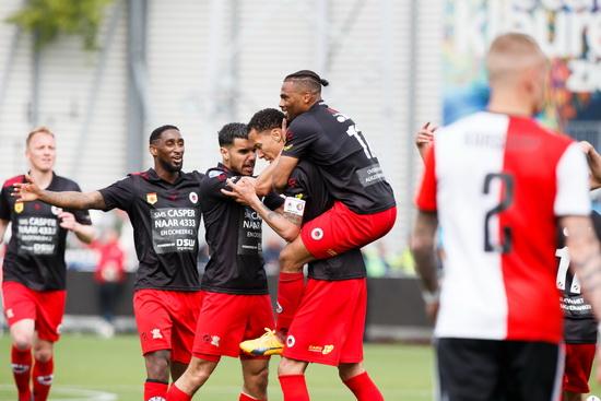 Excelsior begint competitie tegen Willem II en Feyenoord