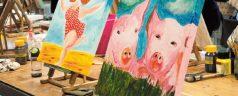 Creatieve zomervakantie workshops bij CurZus&Zo