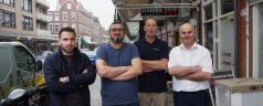 Nieuw bestuur Winkeliersvereniging Crooswijkseweg