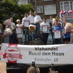 Vishandel Ruud den Haan winnaar Haringtest 2017