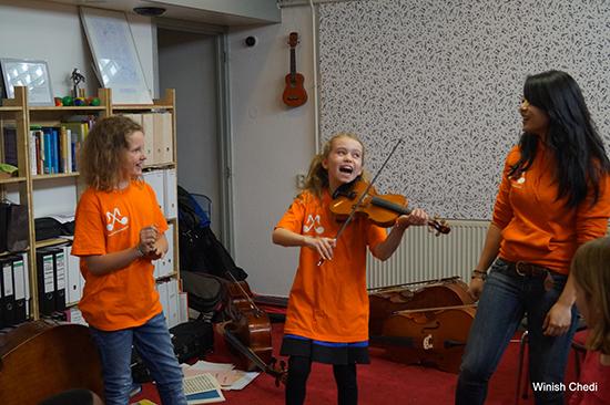 Openbaar concert MiXin'Music bij verzorgingstehuis Aafje
