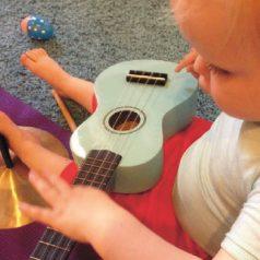 Muziekcursus voor ouders met kleine kinderen