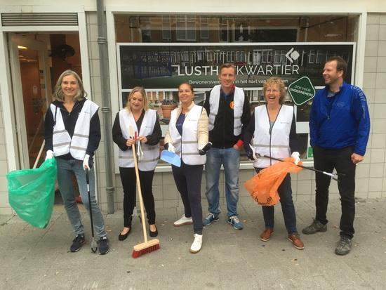 Keep it Clean op 15 september met Bewonersvereniging Lusthofkwartier