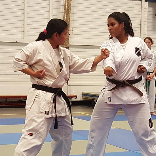 Krav Maga Karate voor vrouwen bij Jayra