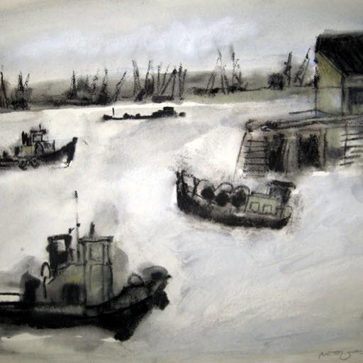 """Expositie """"Water, Stad en Land"""" in Galerie Kralingen"""