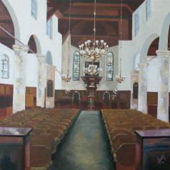 Jubileumschilderij voor Pelgrimvaderskerk in Delfshaven