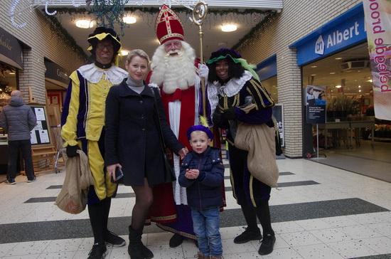 Thijs niet bang voor Sinterklaas