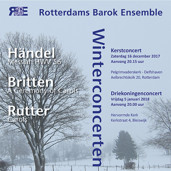 Concert in Engelse kersttraditie in de Pelgrimsvaderkerk