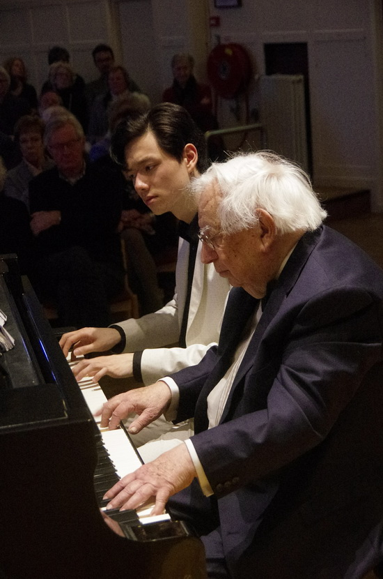 'Rachmaninov in de polder' –  Daniel Wayenberg en Martin Oei