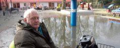 Overstroming werd ijsvlakte