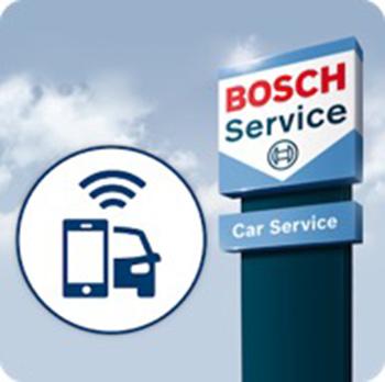 Beheer alles voor uw auto met de gratis Bosch Car App