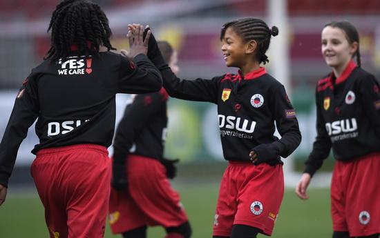 Talentendag voor meiden die bij Excelsior Rotterdam willen voetballen