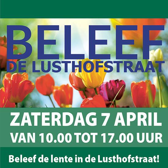 Beleef de lente in de Lusthofstraat!