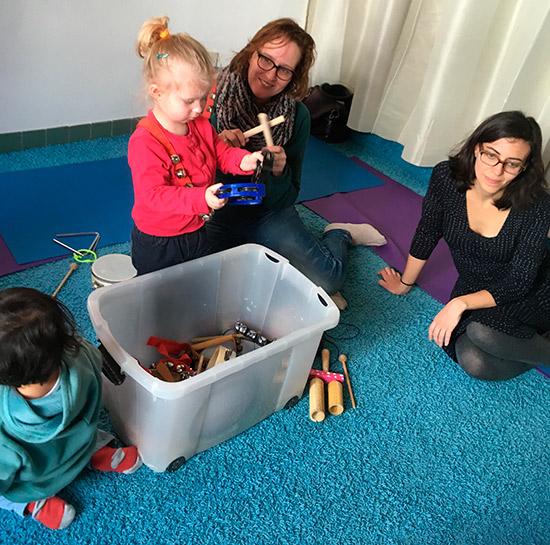 Zeer Zonnecursus 'Muziek met je kind' voor baby's en peuters - De Ster &IU08