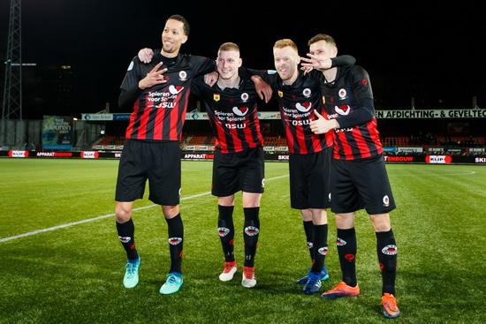 Excelsior na 1-1 tegen PEC Zwolle nu officieel veilig