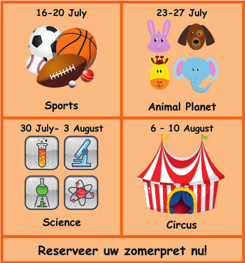 Fun4Kids Zomerkamp 2018