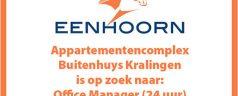 Buitenhuys Kralingen is op zoek naar een Office Manager