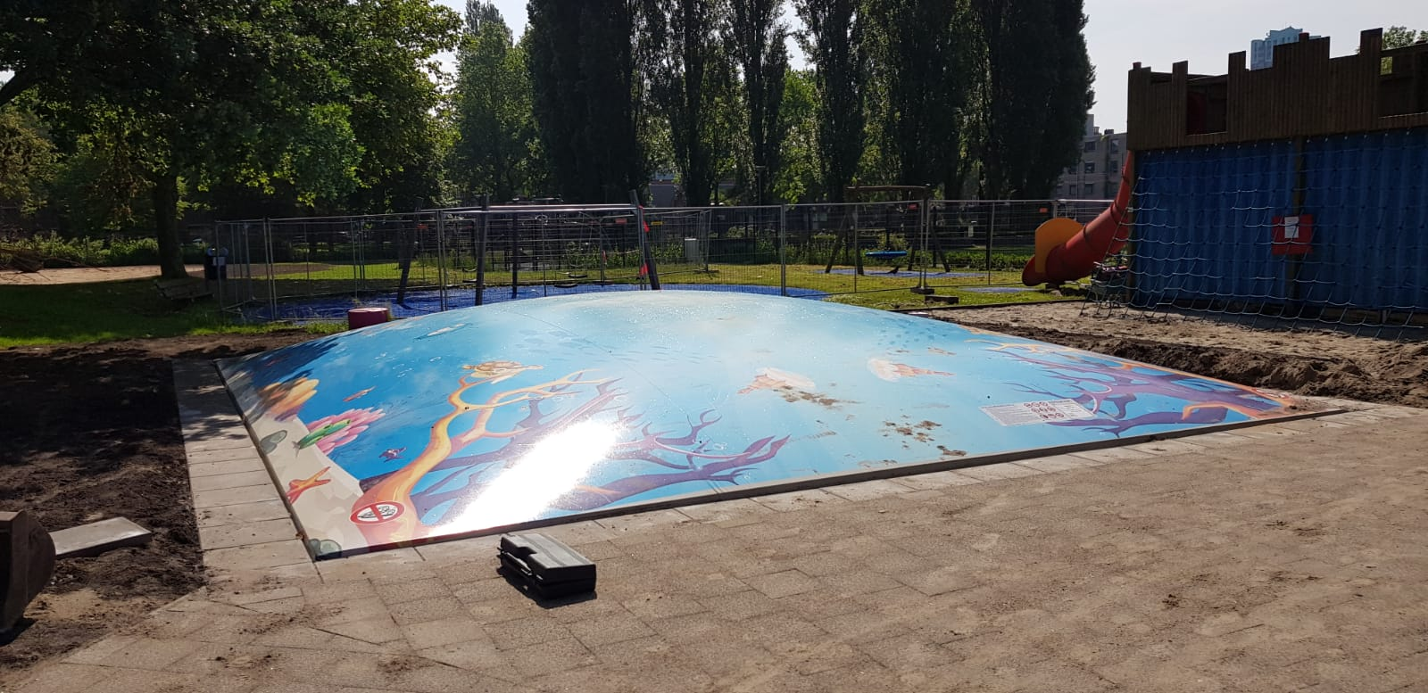 Feestelijke heropening Speeltuin Crooswijk