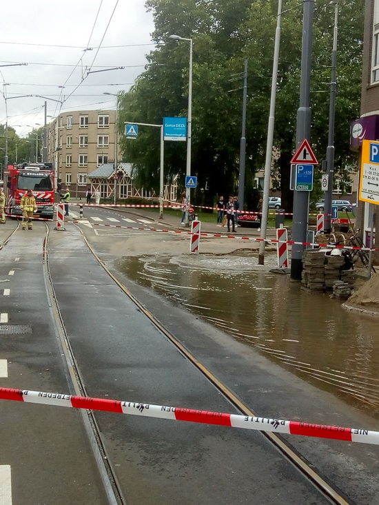 Geen water voor bijna 150 huishoudens rond Boezemsingel