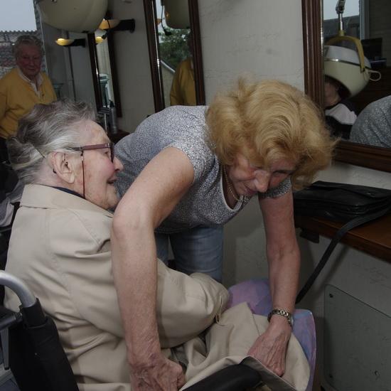 45 jaar knippen in Kralingen