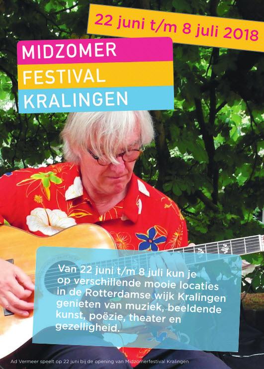 22 juni t/m 8 juli 2018 Midzomer Festival Kralingen