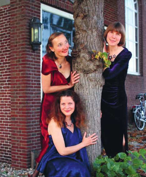 Concert Alma Trio in de Botanische Tuin Kralingen