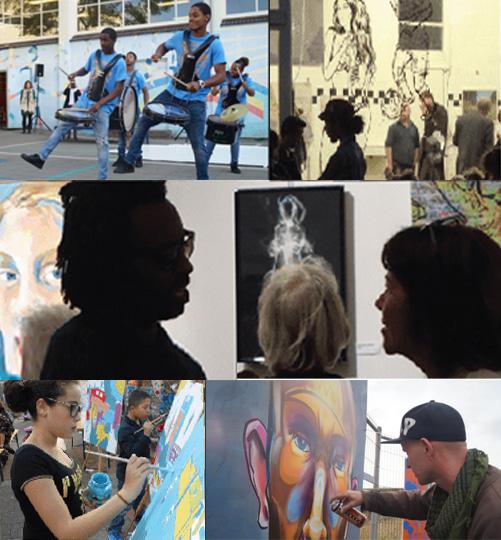 Hotspots verbinden kunst en cultuur met de straat