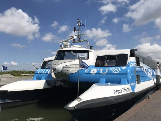 Waterbus Haringvliet expeditie tot 30 september