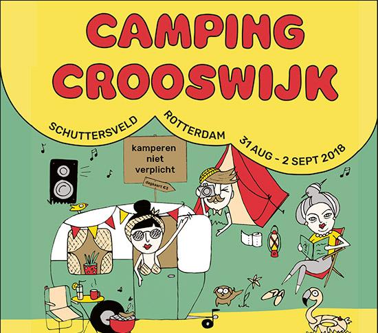 Camping Crooswijk, een festival op het Schuttersveld