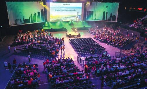 Vierduizend studenten welkom bij Eurekaweek