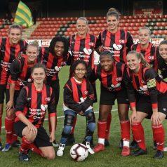 Vrouwen van Excelsior Barendrecht winnen eerste competitiewedstrijd