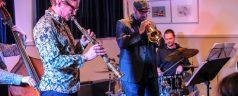 Maandelijks tropenhelm jazzconcert in Crooswijk