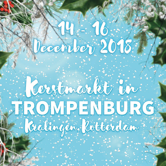 Kerstmarkt in Trompenburg, Tuinen en Arboretum 14 t/m 16 december 2018