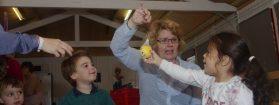 Juf Ria nam afscheid, na 30 jaar als vrijwilliger