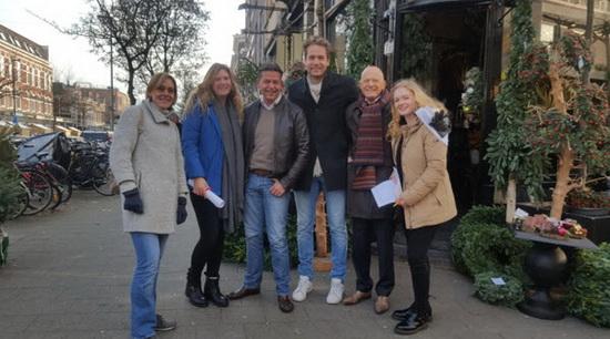 Studenten en ondernemers slaan de handen ineen voor een betere Lusthofstraat