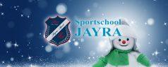 Team Jayra Sport wenst u fijne kerstdagen en een sportief 2018!