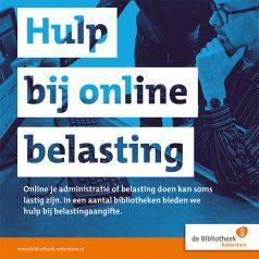 Bibliotheek Rotterdam biedt hulp bij online belastingaangifte