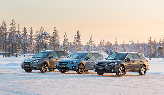 Ontdek de voordelen van Subaru: kom naar de winter testdagen