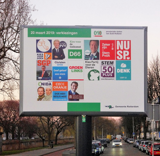 'Als je niet stemt, zorg je voor minder democratie'