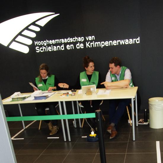 Stemmen in Kralingen