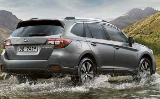 De nieuwe Subaru Outback