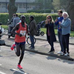 Marathon op Kralingse Plaslaan
