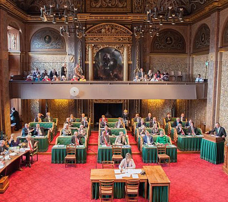 Provinciale Statenleden kiezen leden Eerste Kamer der Staten-Generaal op 27 mei