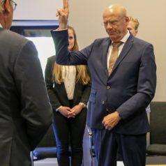 Nieuwe dijkgraaf Toon van der Klugt