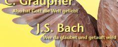 Voorjaarsconcert met cantates van Bach en Graupner